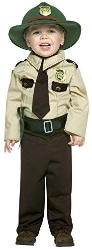 Rasta Imposta Future Trooper Outfit Comical Theme Fancy Dress Toddler Halloween Costume, Toddler -
