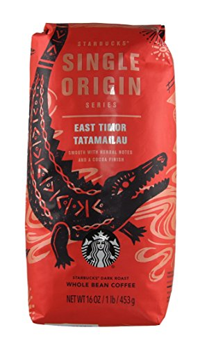 Starbucks - Single Origin - Whole Bean Coffee - 16 oz - Pack of 2 (East Timor Tatamailau)