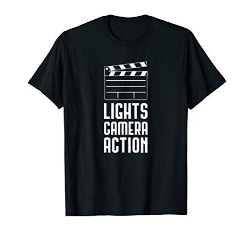 (Lights Camera Action Shirt - Film Makers)