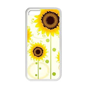 Glam Sunflowers personalized creative custom protective phone case for Iphone 6 plus (5.5)