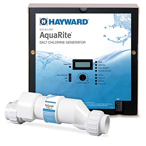 Hayward W3AQR15 AquaRite Electronic Salt Chlorination System for In-Ground Pools, 40,000-Gallon Cell