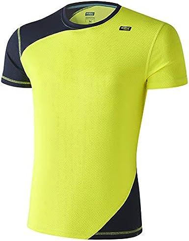 42K Running T-shirt technique /à manches courtes pour homme 42 K Syrus