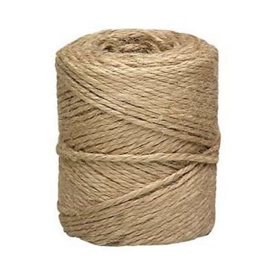 Twine String for Crafts, Jute Twine Rope, Burlap Hemp Cord, Decorative Natural Rustic Ribbon, 3-Ply, 2mm X 300 Feet.: Home Improvement