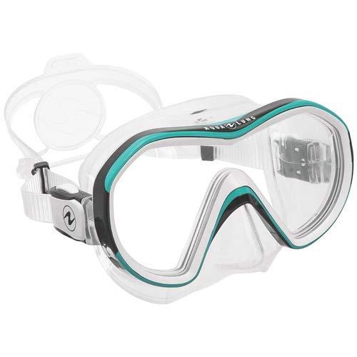 Mask Clear Scuba Dive - Aqua Lung Reveal X1 Dive Mask - Clear/Teal