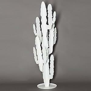 ARTI E MESTIERI 'Planta Cactus Grande Color Blanco