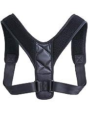 Honorall Upper Back Belt Posture Corrector Support Corset Back Shoulder Braces Spine Support Health Care Adjustable Posture Strap