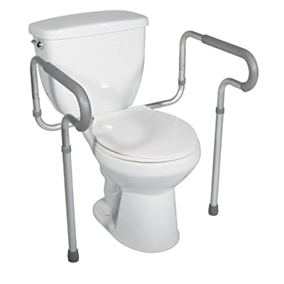 Drive Medical Toilet Safety Frame, White, 28