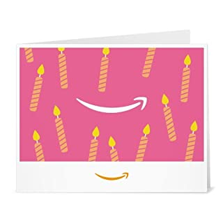 Amazon Gift Card - Print - Birthday Pink Candles (B01LZXSO3H) | Amazon price tracker / tracking, Amazon price history charts, Amazon price watches, Amazon price drop alerts