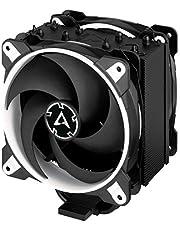 ARCTIC Freezer 34 eSports Duo CPU-koeler, push-pull, warmteafvoer, stille motor, 200-2100 omw/min, 2 PWM ventilator 120 mm hoog vermogen, wit