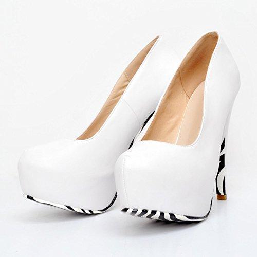Kolnoo Plattform Pumpen Absätze Damen verborgene Stilett Faschion hohe Partei Schuhe Gericht q1YqHOwr