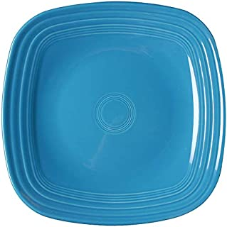 product image for Fiesta 10-3/4-Inch Square Dinner Plate, Peacock