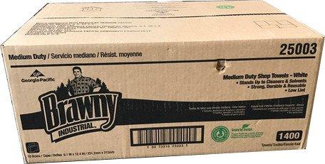 Medium Duty Towel - Brawny Industrial Medium Duty Shop Towels, 9.1