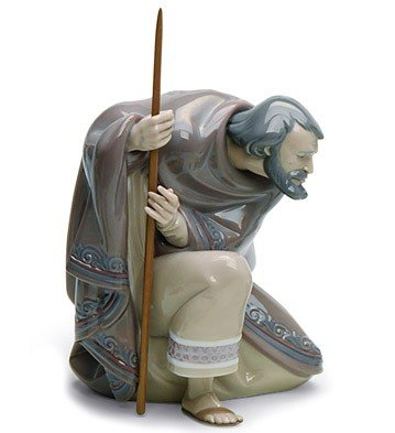 Lladro Saint Joseph Nativity Figurine 01005476 by Lladro Porcelain