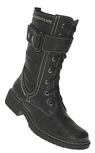 Art 847 Winterstiefel Damenstiefel Boots Stiefel Winterschuhe Schuhe Neu Damen