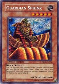 - Yu-Gi-Oh! - Guardian Sphinx (MC2-EN001) - Master Collection Volume 2 - Limited Edition - Secret Rare
