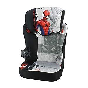 Siège auto rehausseur avec dossier STARTER groupe 2/3 (15-36kg), fabriqué en France – Spiderman
