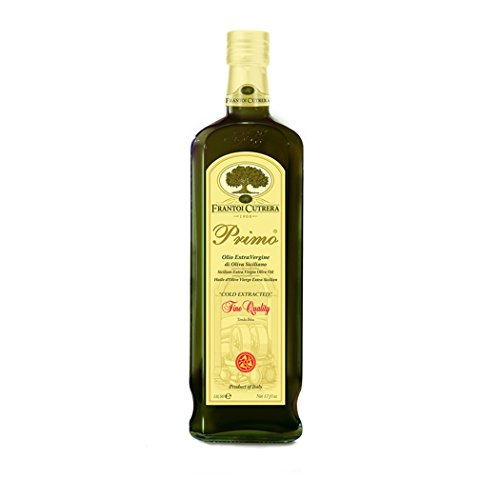 Frantoi Cutrera - Primo - Cold Extracted Extra Virgin Olive Oil, Imported from Italy, 24.5 fl oz