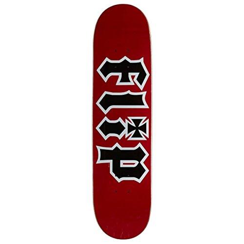 Flip Team HKD Skateboard Deck - Red - 7.75