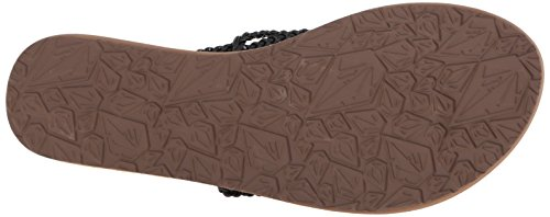 Flip Volcom Women's Flops Party Blk Black SNDL Black qqzZtg