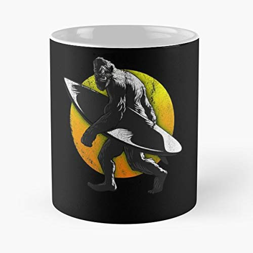 Surfing Surfer Surfboard Equestrian - Funny Sophisticated Design Great Gifts -11 Oz Coffee Mug.the Best Gift For Holidays. ()