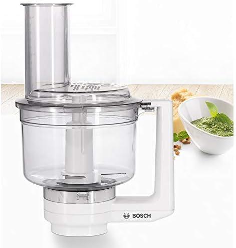 Bosch MUZ5MM1 Multi-mixer con lame in acciaio inox per macchina da cucina Bosch MUM5, Bianco/Trasparente