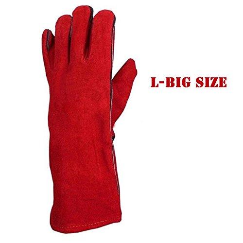 ... HMLifestyle Cowhide Leather Gardening Gloves LongPerfect Rose Garden   ...