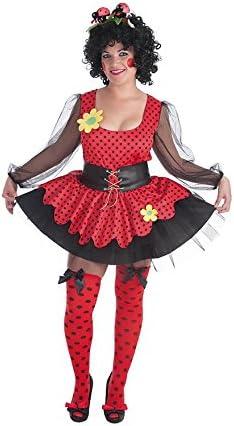 LLOPIS - Disfraz Adulto Mariquita Mujer: Amazon.es: Juguetes y juegos