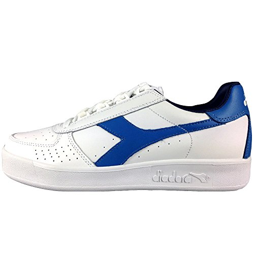 Scarpe Sneakers Uomo / Donna DIADORA Modello B.Elite White Campanula ( White Campanula Estate Blu - 39)