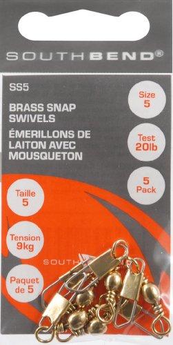 UPC 039364119431, South Bend Brass Snap Swivel, #5