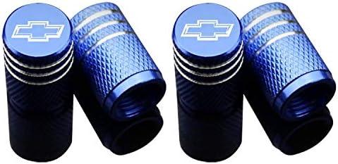 Gray EVPRO Valve Stem Caps for Hyundai Car Tire Decorative Accessories 4 Pack