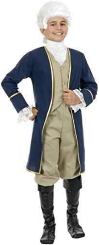 Child George Washington Coat Costume