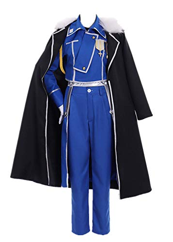 Olivier Armstrong Costumes - Fullmetal Alchemist Olivier Mira Armstrong Costume