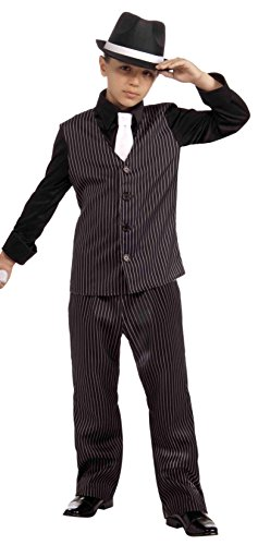 Forum Novelties Littlest Gangster Costume, Child (Mafia Halloween Costume)