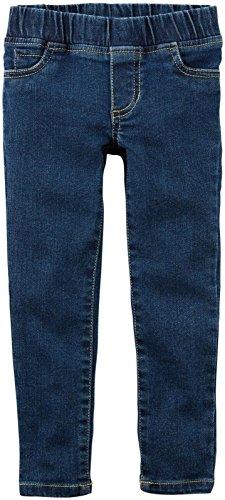 Carter's Baby Girls' Denim Pant, 9 -