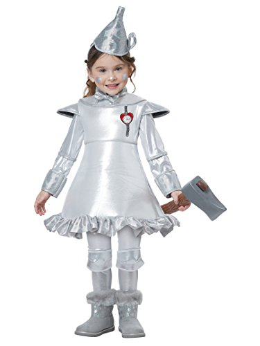Toddler Tin Girl Costumes (Tin Man Of OZ - Toddler Size Medium (3-4))