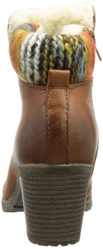 Rieker 95323 - Botines de material sintético mujer Marrón - marrón (Tan)