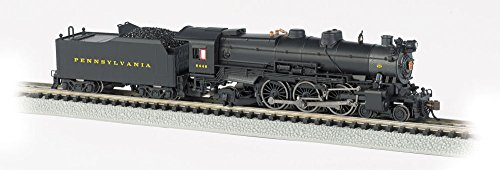 Bachmann Industries PRR K-4S 4-6-2 Pacific Steam Locomotive with DCC Sound - Pre-War with Slat Pilot (N Scale) ()