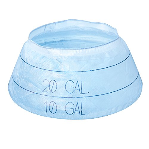 AIRE Industrial 907-000030 Pop up Pool, 30 Gallon Capacity, Polyethylene, 12'' x 38'', Temporary Spill Containment, Opaque See-Through Material by AIRE Industrial