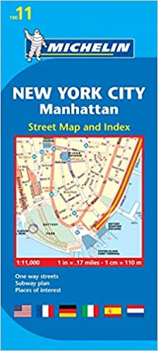 Easy Map Of New York City.Michelin New York City Manhattan Map 11 Collectif