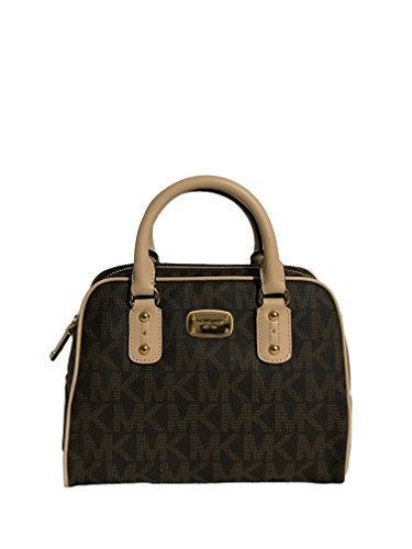 Michael Kors Small Signature Satchel - Brown Signature Small Satchel