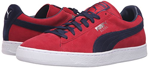 Barbados Classic Basses Suede Mixte peacoat Sneakers Adulte Puma Cherry xfawYqq