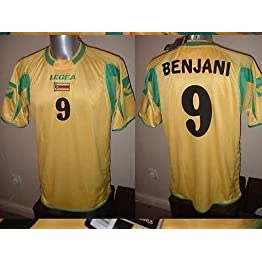 Legea Zimbabwe New Benjani Football Chemise Maillot Afrique Tailles Adulte Large World Cup Manchester City Portsmouth Auxerre