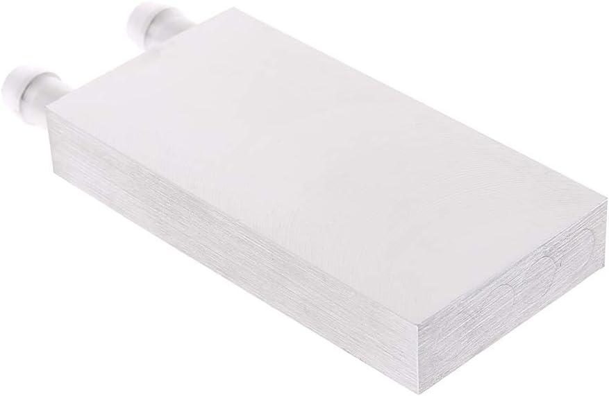 syst/ème de radiateur en Aluminium Primaire de Bloc de Refroidissement par leau de 40 120mm pour lunit/é Centrale de Traitement dordinateur Portable de PC WINJEE