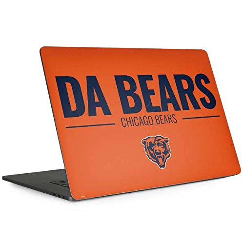 Skinit Chicago Bears Team Motto MacBook Pro 13-inch with Touch Bar (2016-18) Skin - Officially Licensed NFL Laptop Decal - Ultra Thin, Lightweight Vinyl Decal Protection