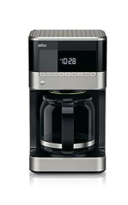 Braun Brew Sense Drip Coffee Maker, Black by Braun