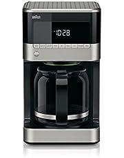 Braun Brew Sense Drip Coffee Maker, Black