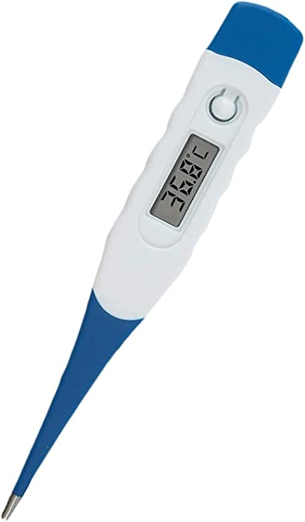 Escolourful Digital Thermometer,Oral LCD Digital Thermometer for Baby Kids and Adult,Thermometer with Digital Display