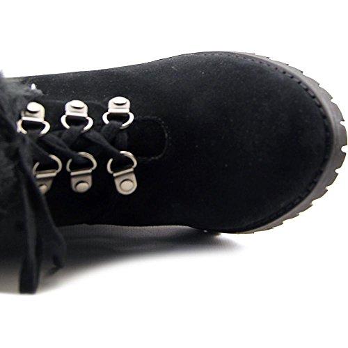 Carlos By Carlos Santana Womens Boot Favoloso In Camoscio Nero