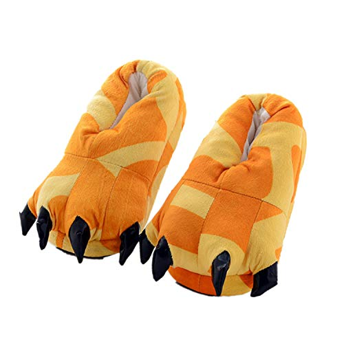 Costume Lath Cosplay Pantofole Animale Zampa pin Scarpe Artigli Halloween Peluche Giraffa n0qO4r