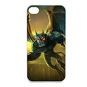 Galio-001 League of Legends LoL case cover for Apple iPhone 4 / 4S - Hard White
